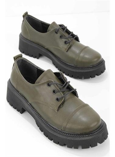 Bambi   Kadın Casual Ayakkabı K01688090509 Haki